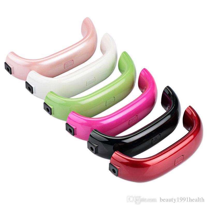 مصغرة USB 9W 3 LED الأشعة فوق البنفسجية مجفف الأظافر علاج مصباح آلة جل الأظافر سريع جاف مصباح الأشعة فوق البنفسجية البولندية ضوء الأظافر أدوات الوجه