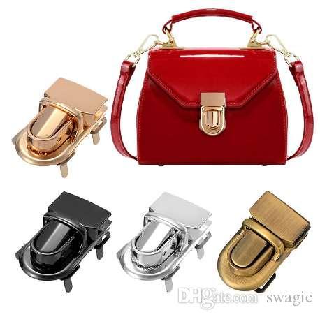 AEQUEEN metallo Girare Locks Twist Parti della borsa fai da te Twist Chiusura Chiusura Blocco borsa Hasp Serratura Metallo Accessori Bag