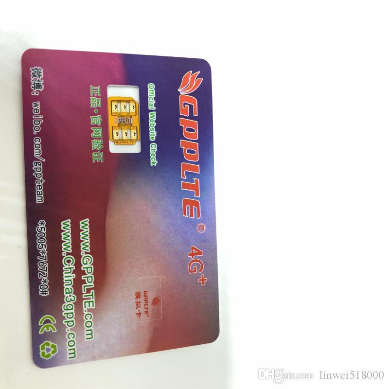Nueva GPPLTE 4G desbloqueo SIM CARD V28 GEVEY Turbo SIM para iPhone IOS13