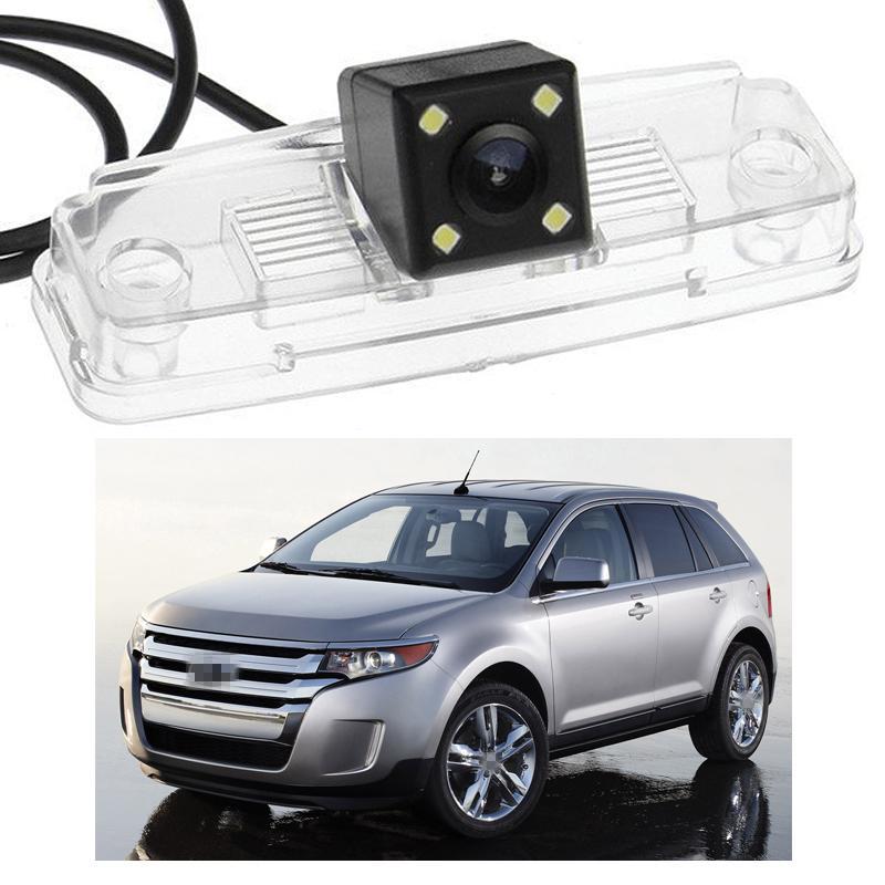 포드 EDGE 2011 2012 2013 2014를위한 새로운 4 LED 자동차 후면보기 카메라 역방향 백업 CCD 적합