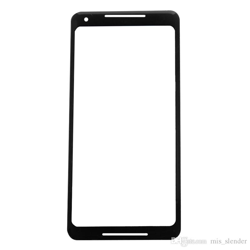 20Pcs Checked For Google Pixel 2 XL 2XL Front Outer Glass Lens Touch Screen Panel Free DHL