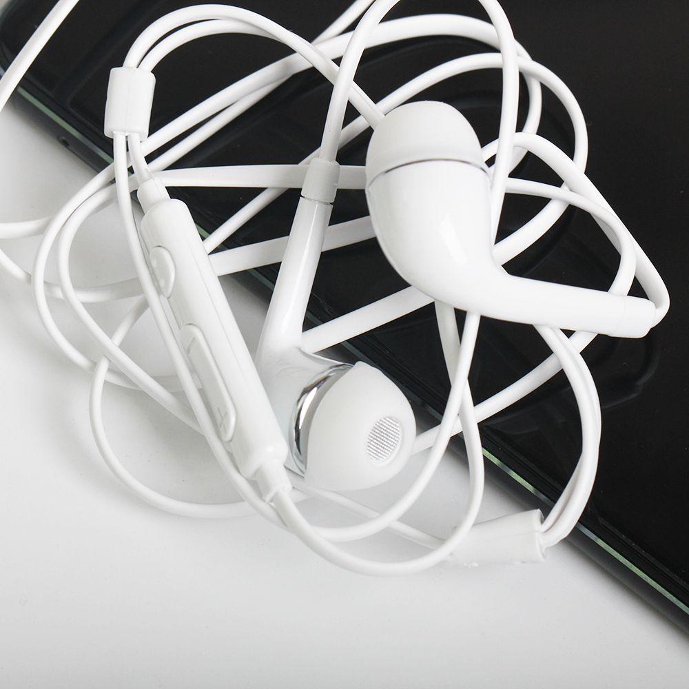 New flat j5 fones de ouvido fone de ouvido com controle remoto e microfone para samsung galaxy s4 i9500 dhl livre