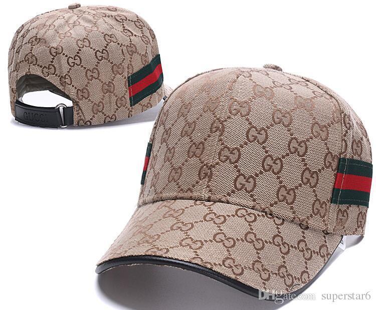 الفاخرة مصمم العلامة التجارية g g جودة عالية ثعبان الرجال النساء شبكة القبعات القطن للتعديل جولف كلاسيكي منحني snapback القبعات في أبي قبعة 39
