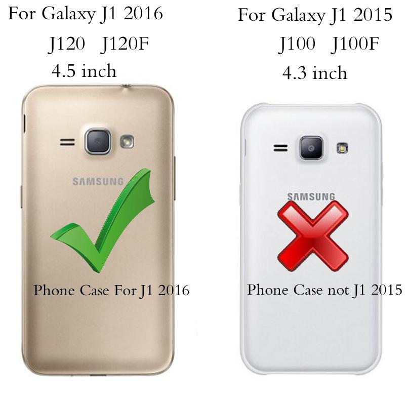 Portefeuille Pour Coque Samsung Galaxy J1 2016 Case En Cuir De Luxe Flip Cover Samsung Galaxy Pour J1 2016 Téléphone Cas Pour Samsung J1 6 Cas Proposé ...