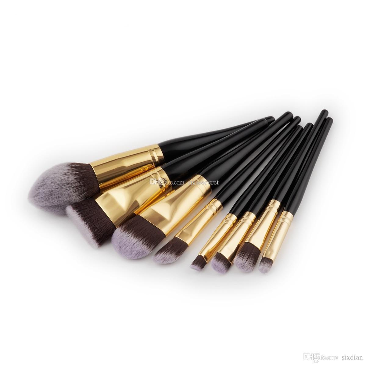 Premium Make-up Pinsel Set 8pcs weiche synthetische Haarbürste professionelle Make-up Künstler Pinsel Werkzeug Make-up Pinsel Kit Tools DHL frei