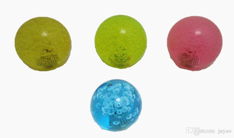 6 PC / Los 35mm Kristallspitzenball mit Luftblase für Steuerknüppel, Säulengangspielmaschine