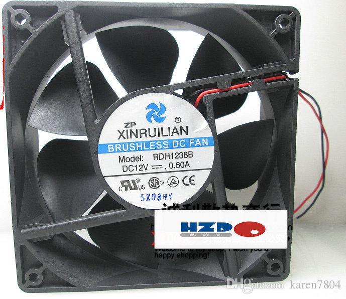 Originele Xinruilian RDH1238B 12V 0.60A 12cm 12038 2-draads ventilator SUNON MEC0381V2-000C-A99