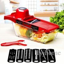 10pcs/set Creative Nicer Slicer Vegetable Cutter Manual Slicer Potato Peeler