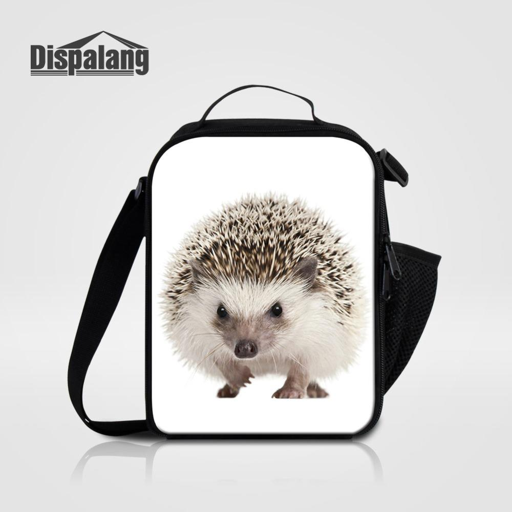 Hedgehog Image Design Portable Handbag Hanger