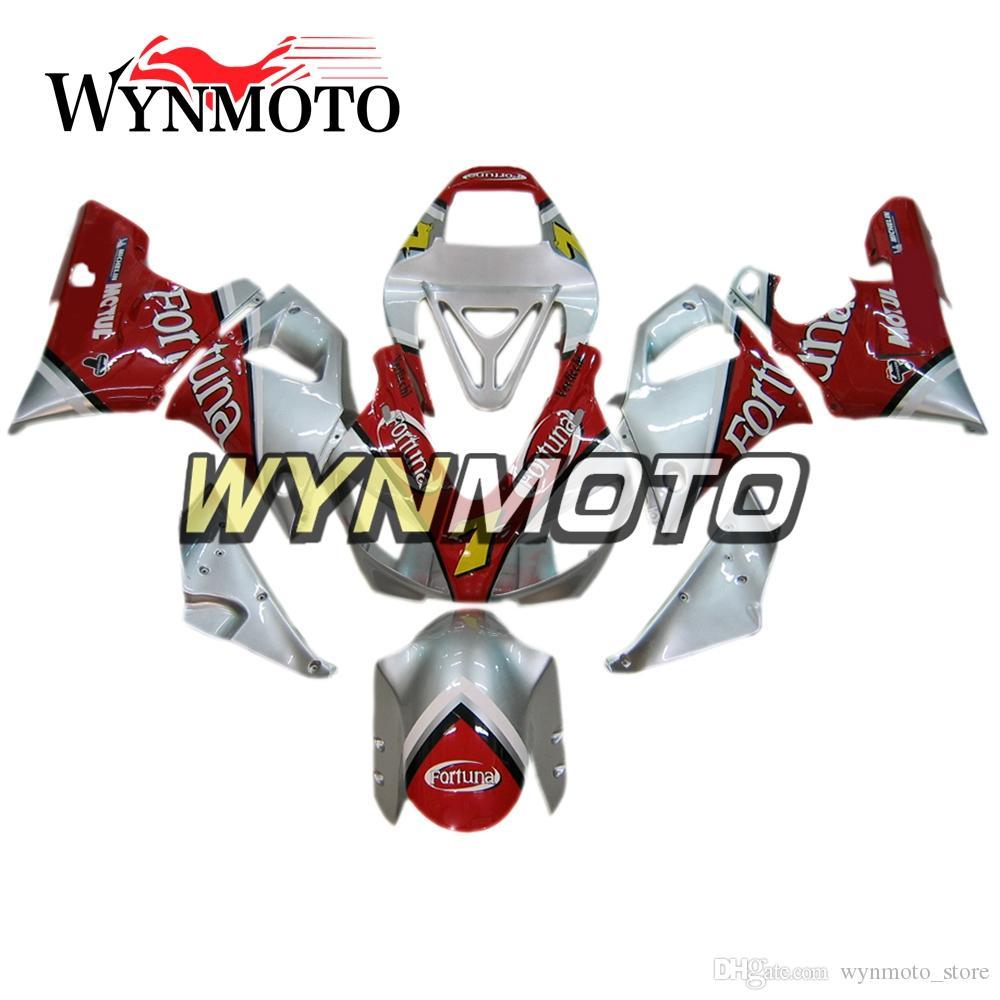 Full Body Frames For YZF1000 R1 1998-1999 98 99 Injection ABS Plastics Fairings Red Silver Cowlings Motorbike Hull Yamaha R1 Frames Bodywork