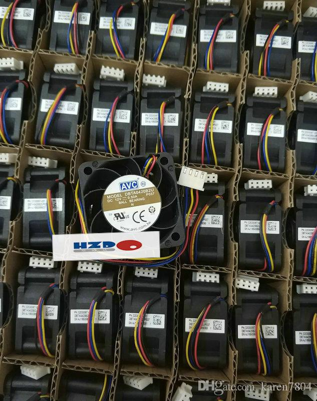 Nuevo original AVC 4020 12V 0.5A DBTA0420B2U 4 cables Ventilador de enfriamiento