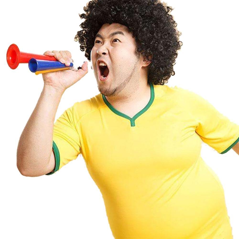 Dünya Kupası Hoparlörler Futbol Hayranları Cheer Horn Sport Hayranları Boynuzları Futbol Boynuz Amigo Hoparlör Boyutu M / L (Rastgele Renk)