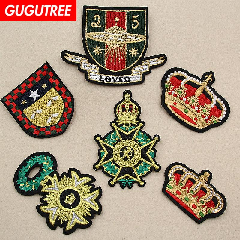 Le badge de broderie GUGUTREE corrige l'individualité, le patch, le badge, le patch, le T-shirt, le bonnet, les sacs, le chandail et le sac à dos SP-195.