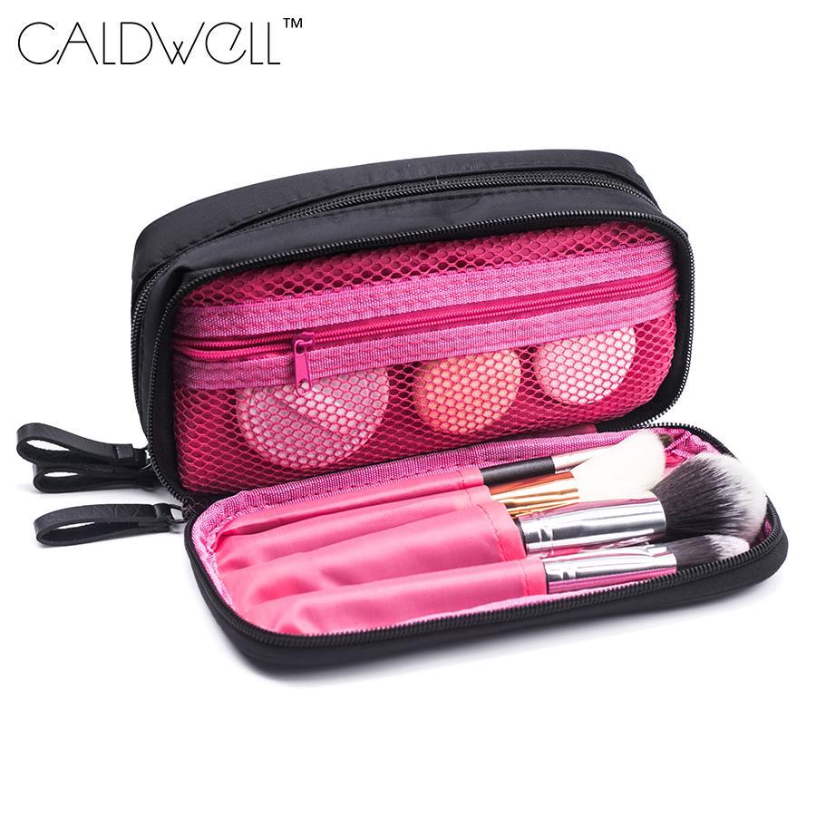 ac9477f51707 Women Cosmetic & Makeup Brush Bag Purse Small Makeup Bag Lady Storage Brush  Organizer Make Up Case Beauty Clutch Cosmetic Bags Makeup Stores Makeup ...