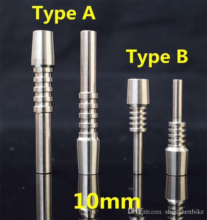 DHL 10 мм титановый наконечник титановый гвоздь мужской сустав перевернутые гвозди длина 40 мм 60 мм Ti советы для ногтей