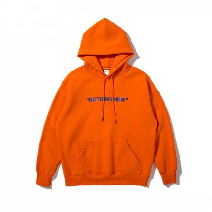 From Printing Simple amp;price; Hoodies And 2017 Dhgate Mens com 2019 Street English 6 Pocket High Hoodie Autumn Sweatshirts Orange New Hasueno