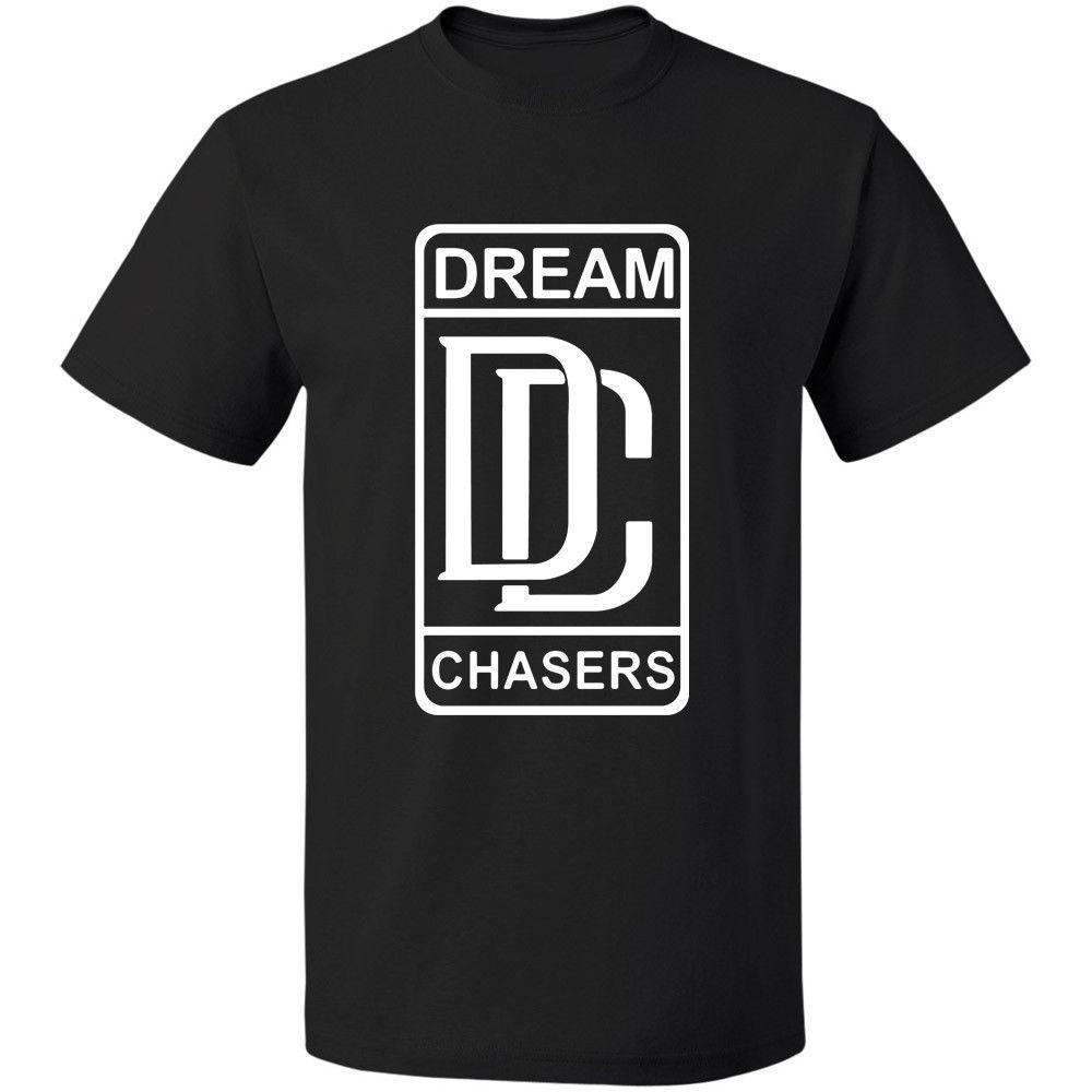 Moinho de Retno Meek - Dream Chasers Logo Tee S-3xl 100% Algodão Frete Grátis T-shirt de Algodão Moda Camiseta Top Tee