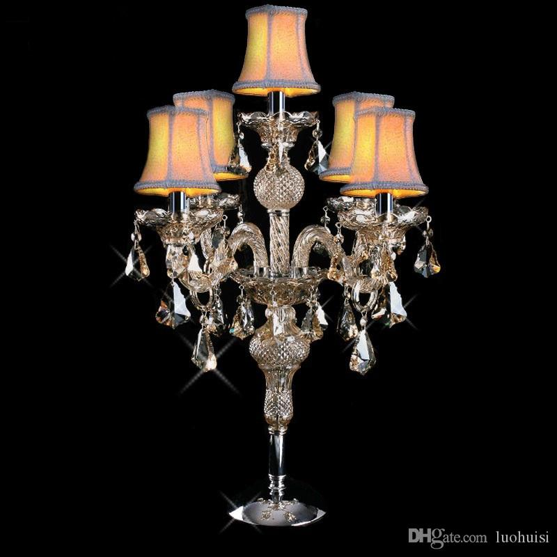 Crystal table lamp decoration table lamp fashion bed-lighting fashion table bedside lamp crystal Abajur