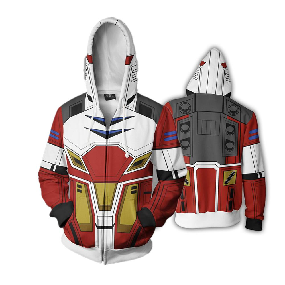 New GUNDAM EVA Full Zip Thin Hoodies Cool Pullover Coat Jacket Unisex Jumper Sweatshirt Cospaly