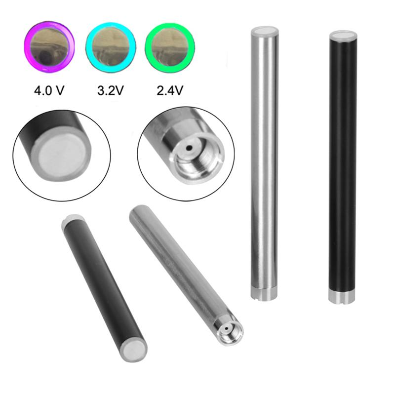 MIX2 Vape caneta Baterias de 280 mAh 510 Bateria de Rosca Tensão Ajustável Para Vape Cartuchos 2018 Trending Produtos DHL Livre