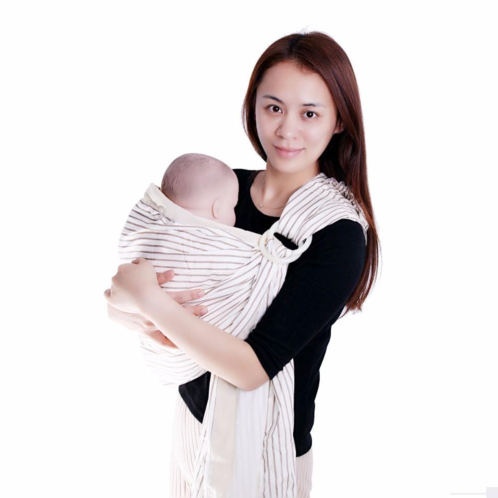 Spedizione gratuita Pet Outdoor Carrier Bag Single-Shoulder Strip Sling Bag Baby Wrap Carrier Infant Carrier morbido cotone traspirante