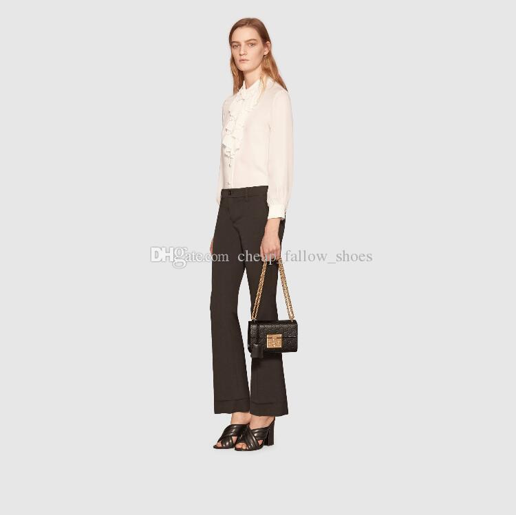 Yüksek kaliteli A + + + marka lüks çanta tasarımcısı çanta Bayanlar zincir omuz çantası İmza cüzdan ücretsiz kargo