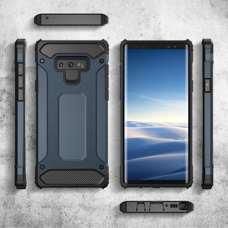 Für Samsung A10 A30 A50 M10 M20 M30 für LG K9 für Huawei P30 Lite P30 Pro Stoß- Rüstung TPU + PC-Telefon-Kasten D1