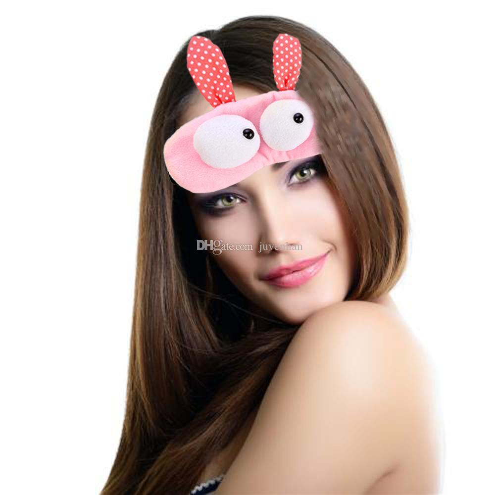 Nice Cute Eyes Care Sombra de ojos Gel frío o caliente Paquete de terapia Ojos para dormir Máscaras para dormir Sueño profundo EyeShade Eyepatch Eye Mask