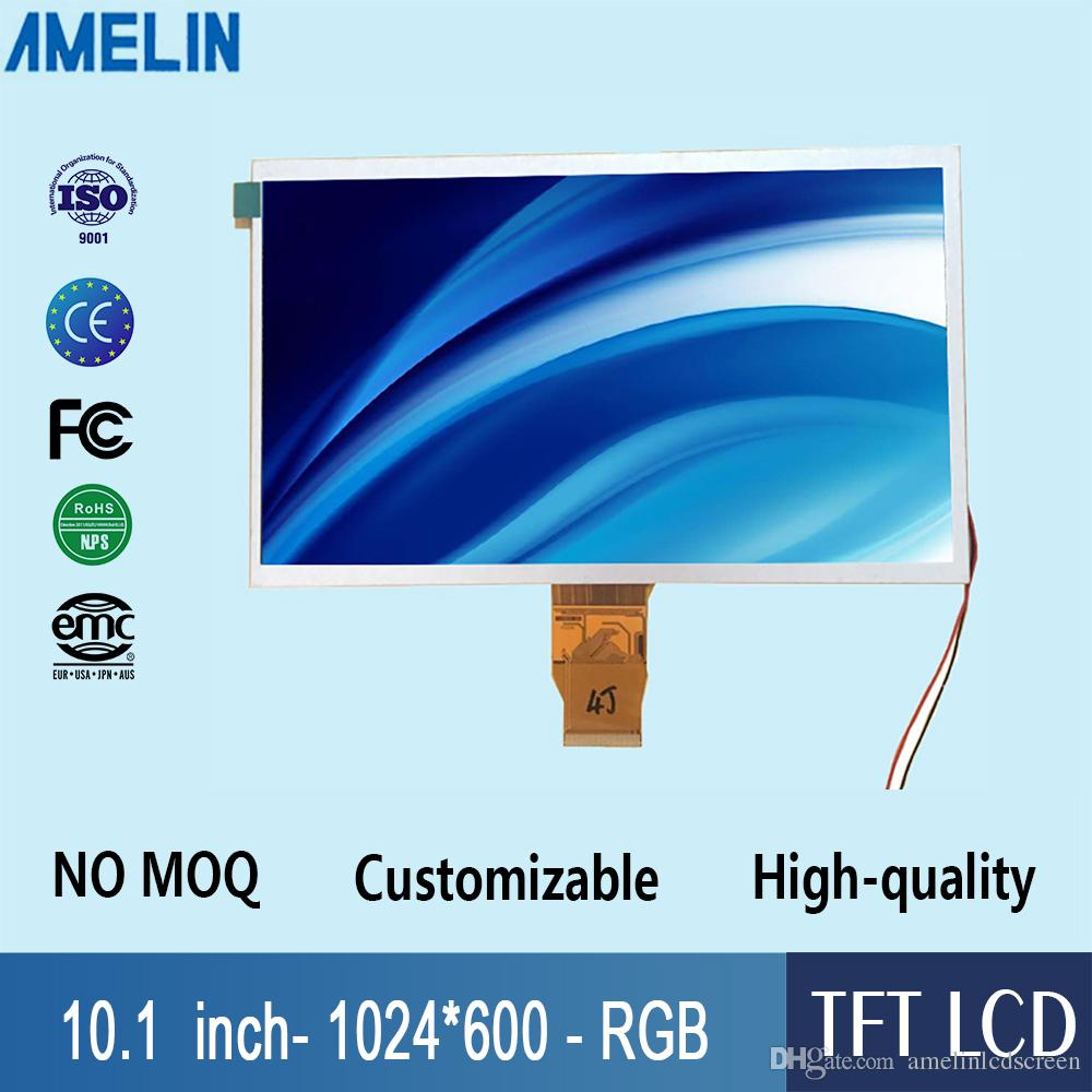 10.1 inch 1024*600 resolution TFT LCD Module screen with RGB Interface display for raspberry pi