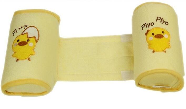 Yellow Baby Sleeper Pillow Sleep Positioner Crib Bumper Nursing Pillow Anti-Rollover Memory Foam Cute Cartoon Anti-roll Sleeper Pillow Sleep Positioner Insurance Baby Anti Roll Pillow