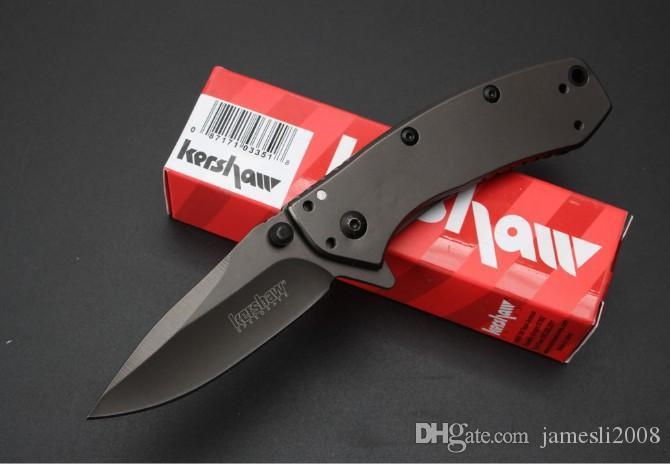 Kershaw 1555TI Тактический складной нож Hinderer Дизайн Flipper Кемпинг Охота Выживание карманный нож Утилита EDC инструмент Бесплатная доставка