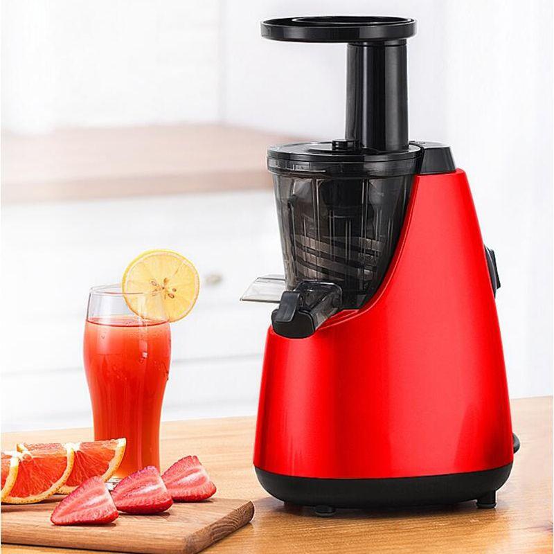 Бытовая Полностью Автоматическая Соковыжималка для Фруктов и Овощей Соковыжималка Оранжевые фрукты Соковыжималка для цитрусовых Saker Maker 60RPM Slowly Speed