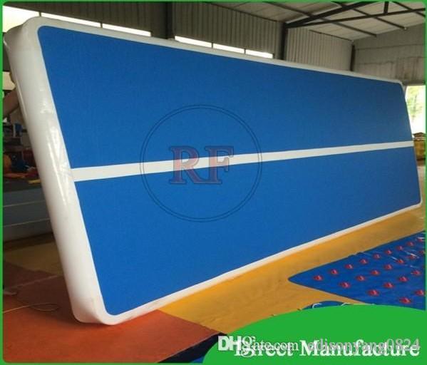 Aufblasbare Luftmatratze des professionellen Herstellers für aufblasbare Luftbahn der Turnhallenmatte für Verkauf