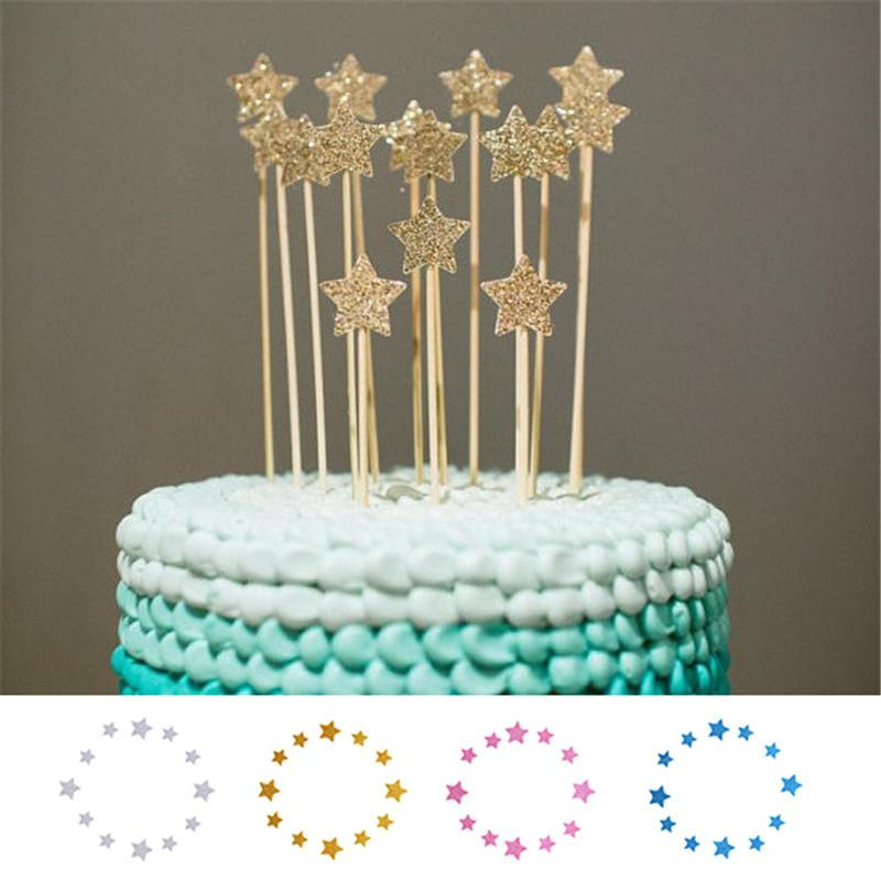 Pleasing 2020 Shinning Star Wedding Birthday Cake Decorating Tools Funny Birthday Cards Online Elaedamsfinfo
