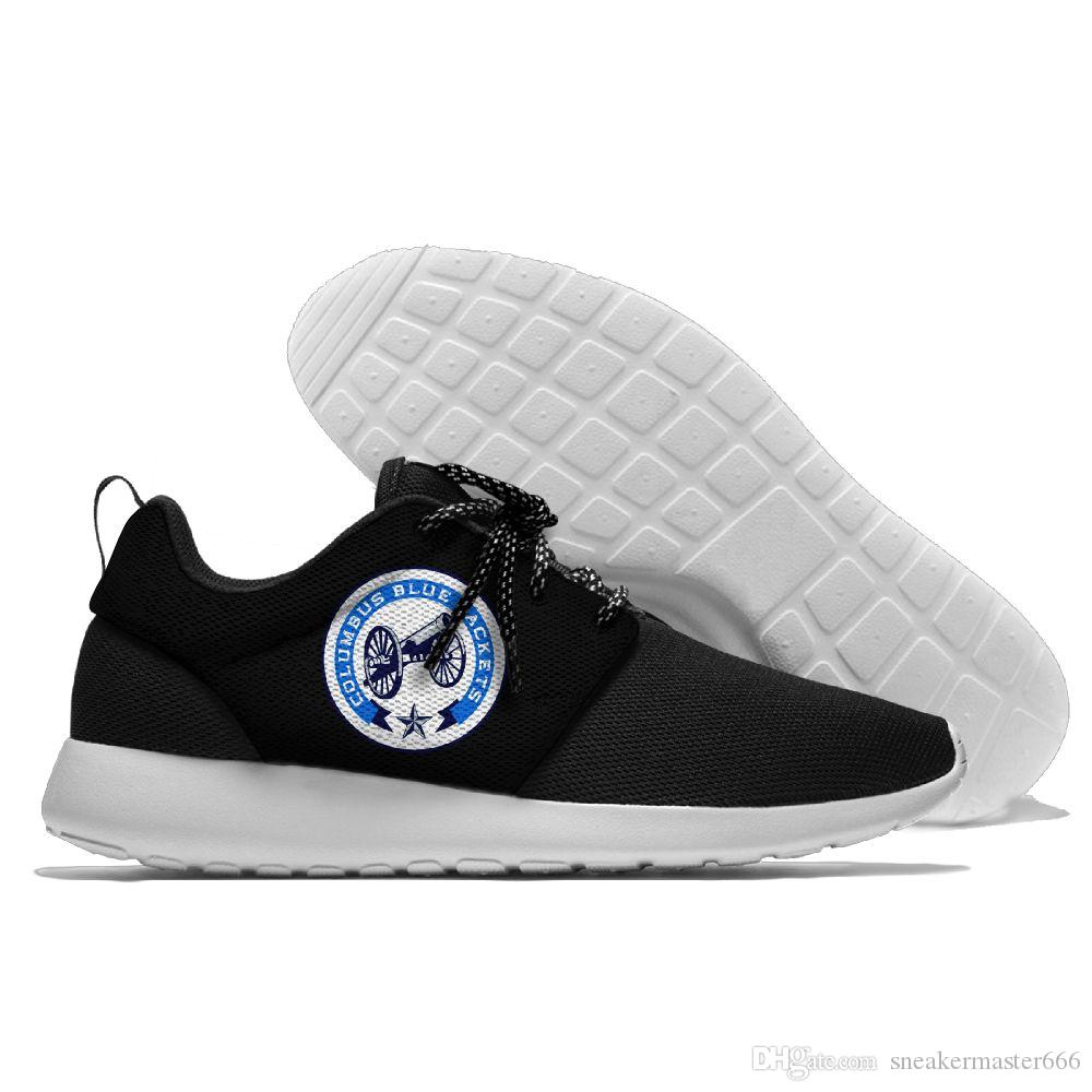 Circunferencia Máquina de recepción cantante  Compre Factory Outlet Custom Hombre Mujer Zapatillas De Fútbol Baratas  Columbus Blue Chaquetas Hockey Zapatillas De Running A 50,43 € Del  Sneakermaster666 | DHgate.Com