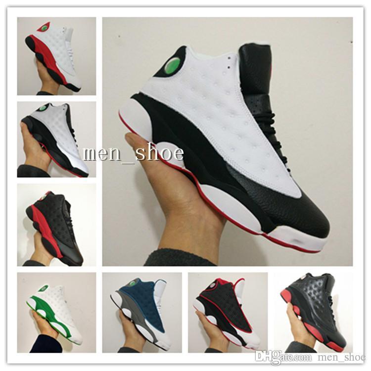 (С коробкой) дешевые + XIII CP3 баскетбольная обувь 13 13s черный Орион синий Sunstone Легкая атлетика кроссовки мужская спортивная обувь 13 тренер