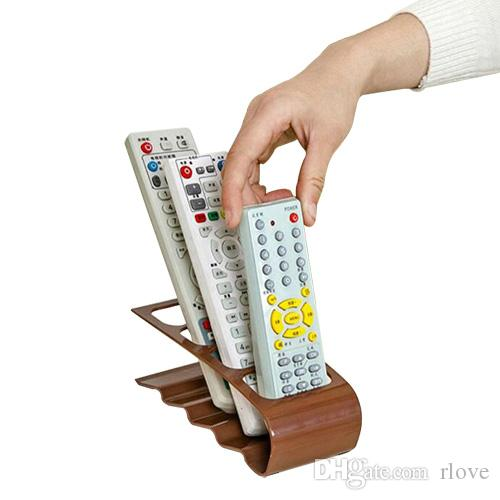 Originality Remote Control Storage Holders & Racks Super Utility Four Grid Electric Remote Receiver Non-folding Rack free shipping