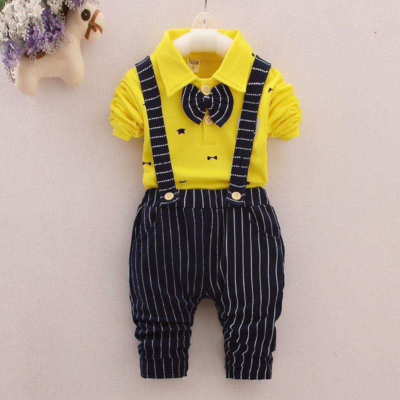 Bébé garçon mariage formel smoking costume noeud papillon gentilhomme chemise pantalon nouveau-né tenue bébé enfants garçon gentilhomme élingue formel