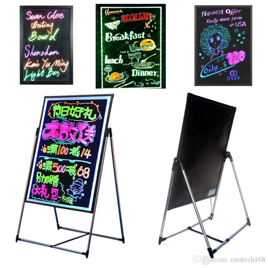 Kinder, die DIY Brett Leuchtstoff LED-Schreibens-Eberanzeige DIY das Design für lernen, unterrichten Kinderhotelrestaurant-Speicherförderung