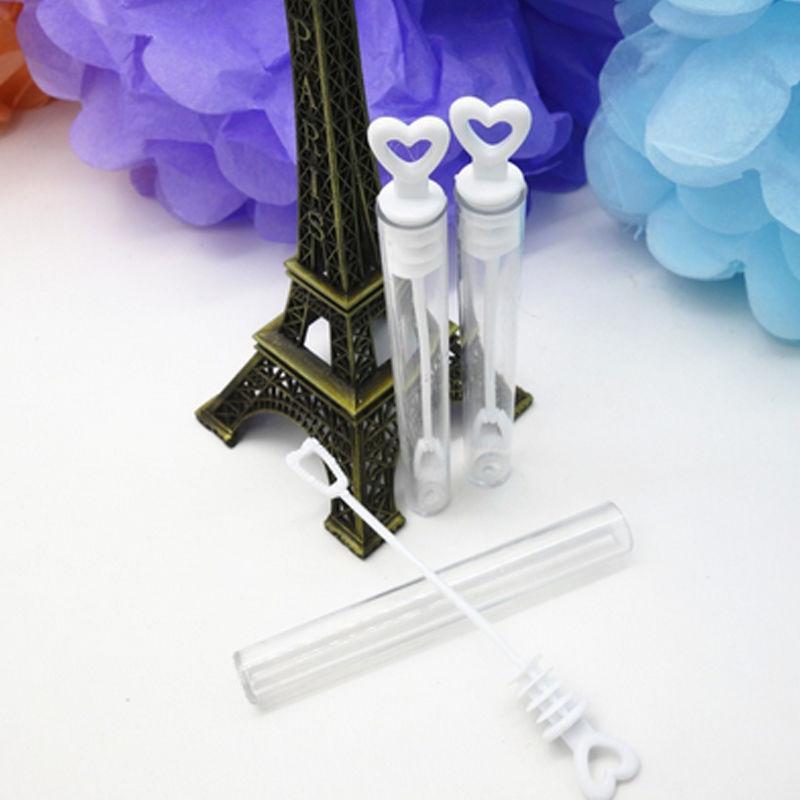 12 adet Boş Kabarcık Sabun Şişeleri Için Temizle Kalp Kabarcık Üfleme Oyuncaklar Düğün Bebek Duş Doğum Günü Partisi Dekorasyon Parti Iyilik