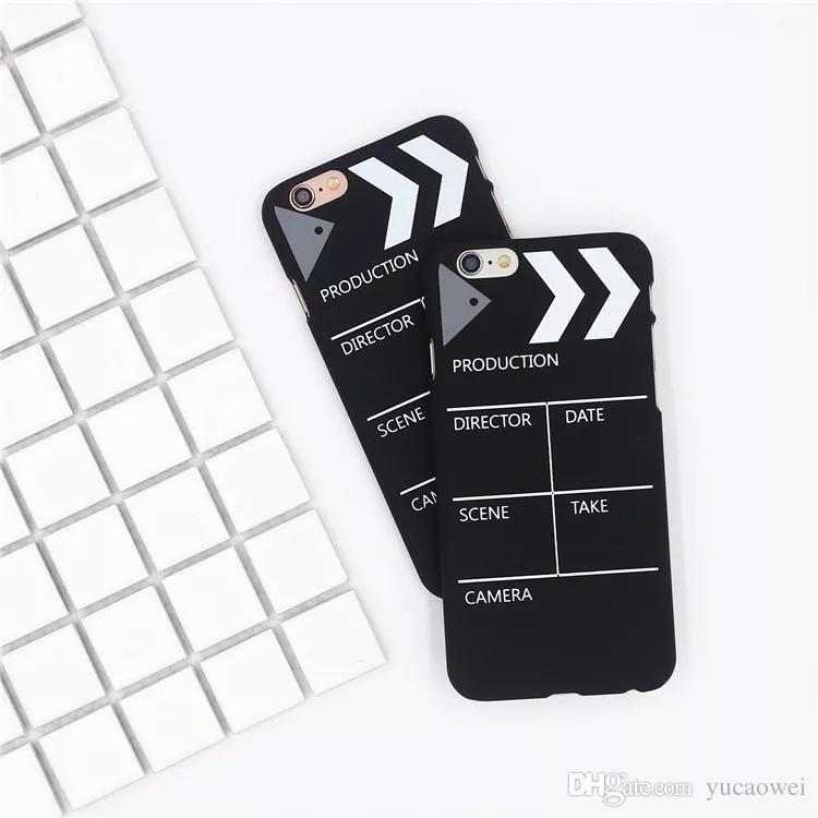 Película graciosa caja del teléfono para el iphone x case para iphone 7 8 plus funda Moda linda dobi gogs animal soft tpu cajas negras