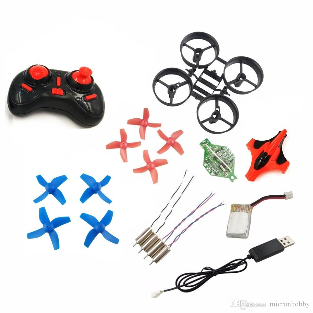 DIY Mini Drone 2.4GHz RC Helicopter W / 5.8G FPV Camera One Key Return Headless Quadcopter Propeller Motor Battery Receiver Board