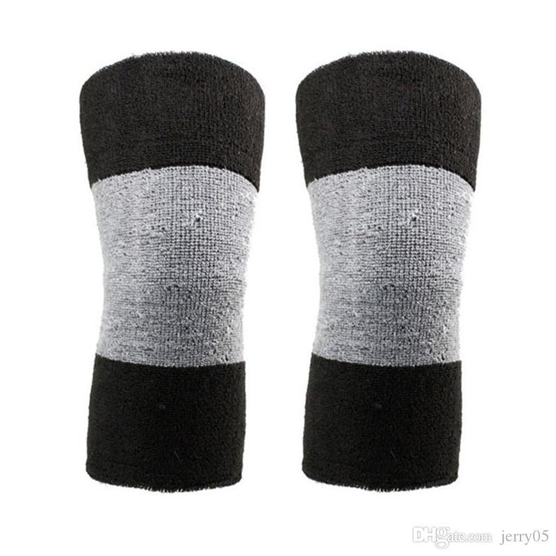 겨울 온난 한 무릎 괄호 탄성 관절염 무릎 패드 수근관 무릎 지원 1 쌍