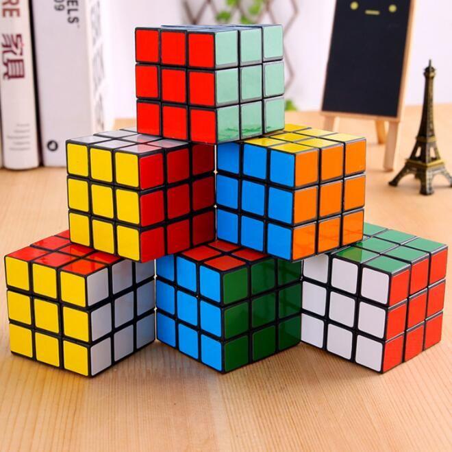 Puzzle Cube маленький 3см мини волшебный кубик игра обучать образовательные игры головоломки кубики хорошие подарок игрушечные новинки элементы CCA10289-A 240 шт.
