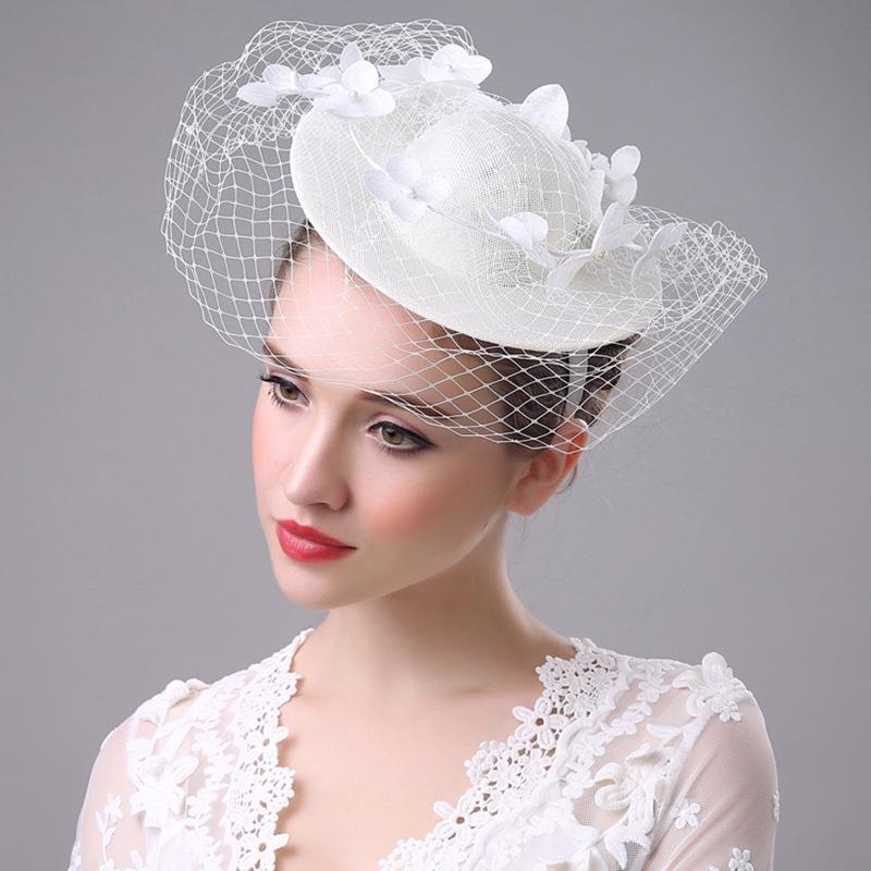 Шлем венчания повелительницы шнурка handmade льна свадебный, головной цветок, официально шлем