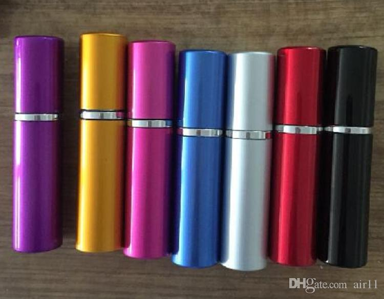 Le plus chaud 10 ml Mini Portable Rechargeable Parfum Atomiseur Coloré Spray Bouteille Vide Bouteilles De Parfum mode Bouteille De Parfum Livraison Gratuite
