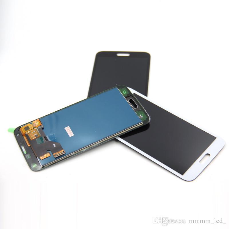 Copia per Samsung S5 LCD G900F Display LCD Touch Screen Digitizer Assembly compatibile per Samsung Galaxy S5 G900 G900F LCD regolabile