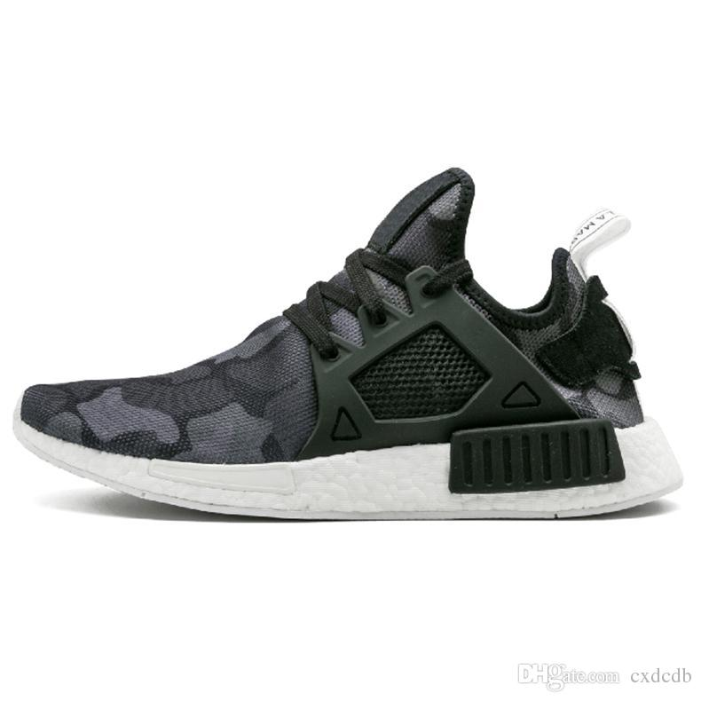 2020 New Grey Nmd Xr1 Running Shoes Mastermind Japan Olive Green