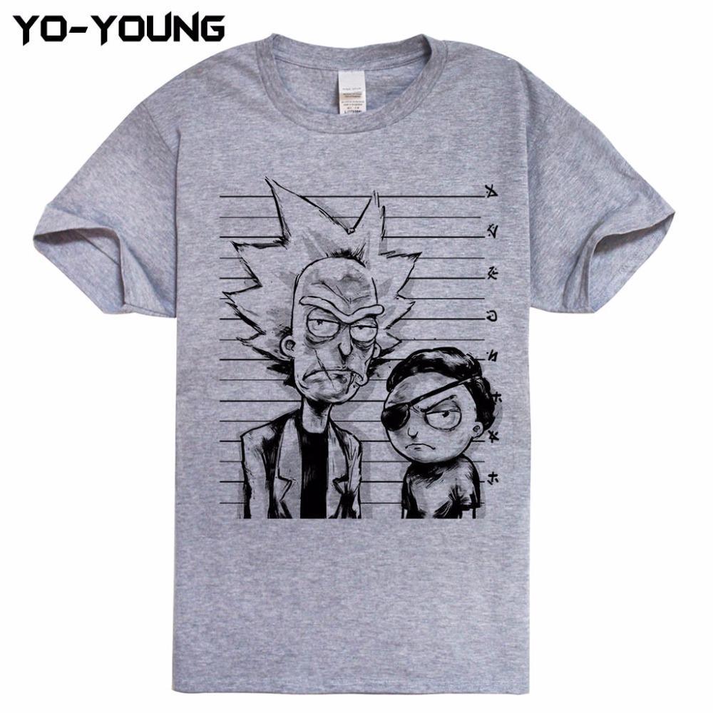 Venta al por mayor-Nuevos hombres Camisetas Diseño divertido Impresión digital 100% algodón Top Tees personalizados