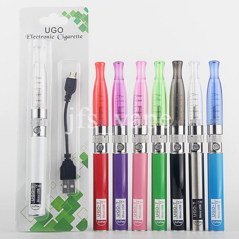 eGo-T CE4 Single Starter Blister Pack Vaporizer Pen Kits Electronic Cigarette eGo 510 Thread 650 900 1100mAh Vape Battery